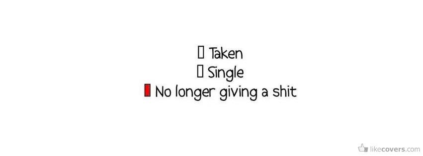 Taken Single No Longer Giving Facebook Covers