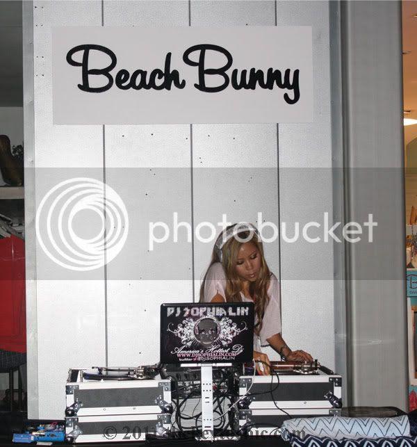 Beach Bunny Swimwear Malibu, DJ Sophia Lin