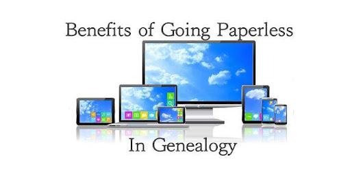 Benefits of Going Paperless In Genealogy | We Are Cousins