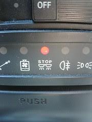 ストップランプ球切れ警告灯