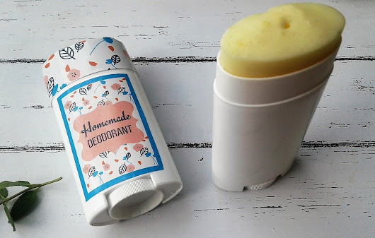 Homemade Deodorant with Free Printable Labels - Simple Mom Review