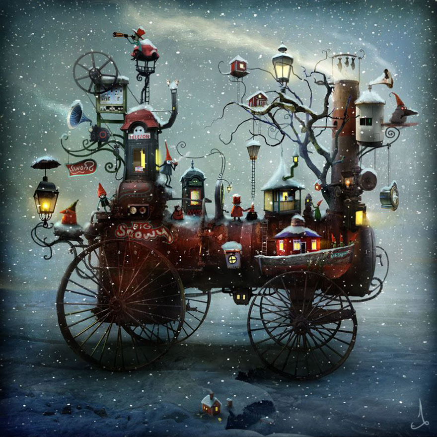 Alexander Jansson illustration fairytale9