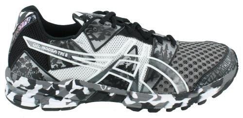 save off 1e7bc 75b17 ASICS Men s GEL-Noosa Tri 8 Running Shoe,Storm Lightning Black,10.5 M US ~ running  shoes mens and womens