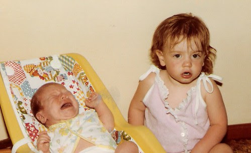 Tess and Maggie - May 1983