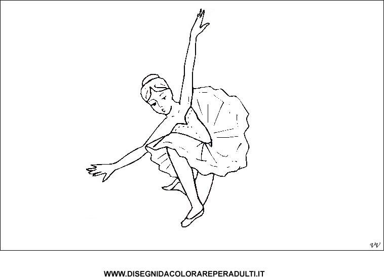 Ballerine Di Danza Classica Da Colorare Immagini Di Ballerine