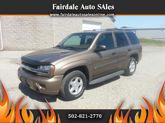 Used 2003 Chevrolet TrailBlazer for Sale in Louisville KY 40214 Fairdale Auto Sales