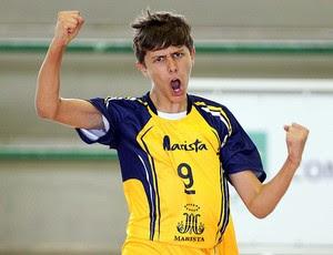 Potiguar Pedro Henrique é convocado para Seleção Brasileira de Vôlei Infantil (Foto: Divulgação)