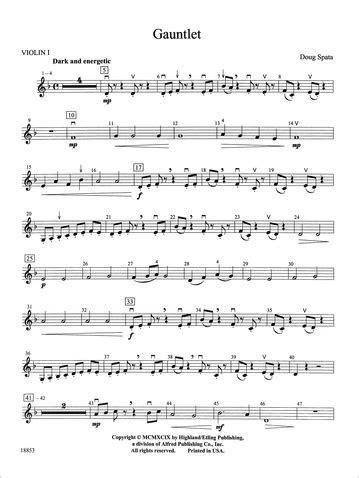 Gauntlet: 1st Violin