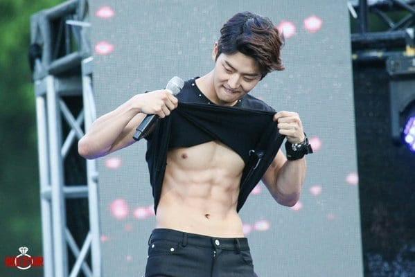 Kpop Male Idol Abs Ezu Photo Mobile