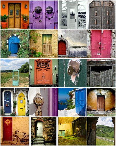 inspiration palette, august 18 (doorways to the world)