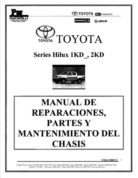 Toyota 2kd manual