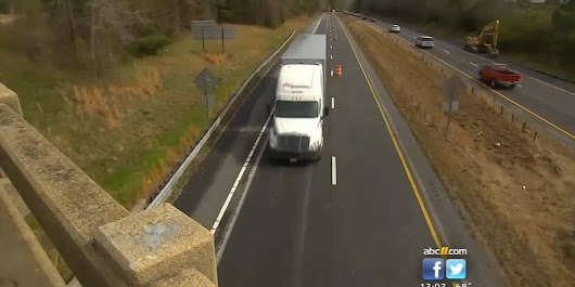 Rocks being thrown at big rigs on I-85 in North Carolina - Trucker Country