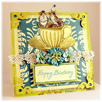 Designs By Robin Vintage Greeting Card Graphic 45