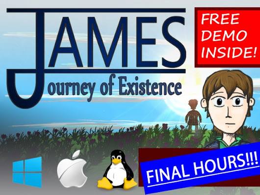James - Journey of Existence (A Hand-Drawn/Animated 3D Game)