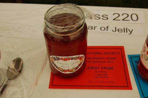 Bowes Show prize Sept 12 3