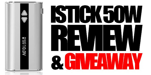 Eleaf iStick 50w Review & Giveaway