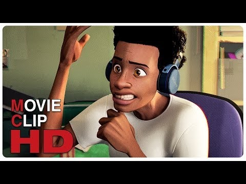 Miles Sings Post Malone Scene   SPIDER-MAN: INTO THE SPIDER-VERSE (2018) Movie CLIP HD