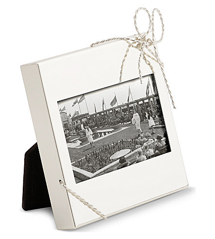 Vera Wang At Wedgwood Love Knots Mini Picture Frame Selfridgescom
