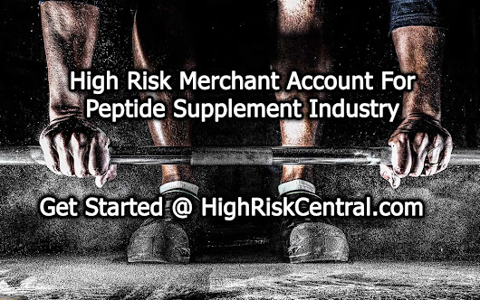 Merchant Account For High Profitable Peptide Supplement Retailer