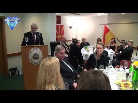 Neuer Honorarkonsul der Republik Mazedonien im Burgenland