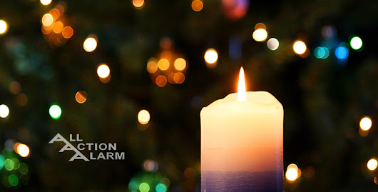 How To Use Candles Safely This Holiday Season - All Action Alarm