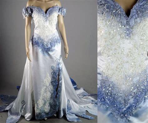 Tim Burton Corpse Bride Wedding Dress gown Costume by