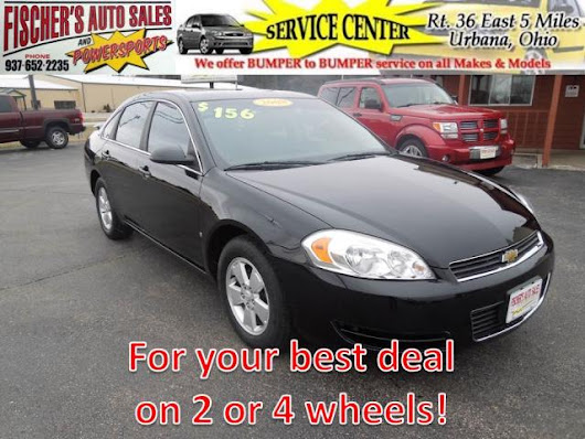 Used 2008 Chevrolet Impala for Sale in Urbana OH 43078 Fischer's Auto Sales & Powersports