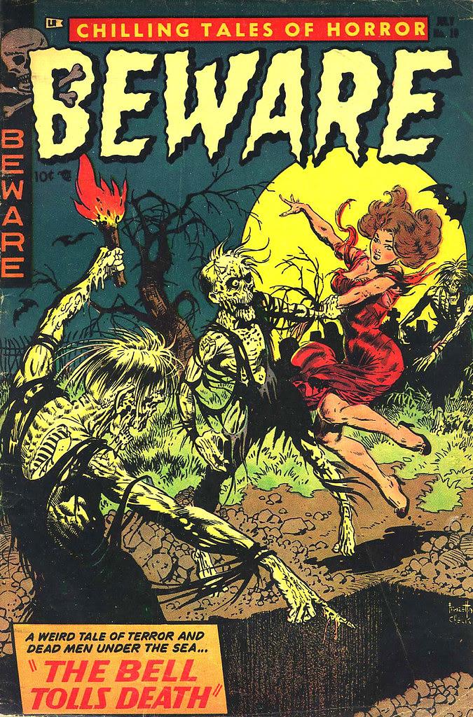 Beware #10 (Trojan/Prime, 1954)
