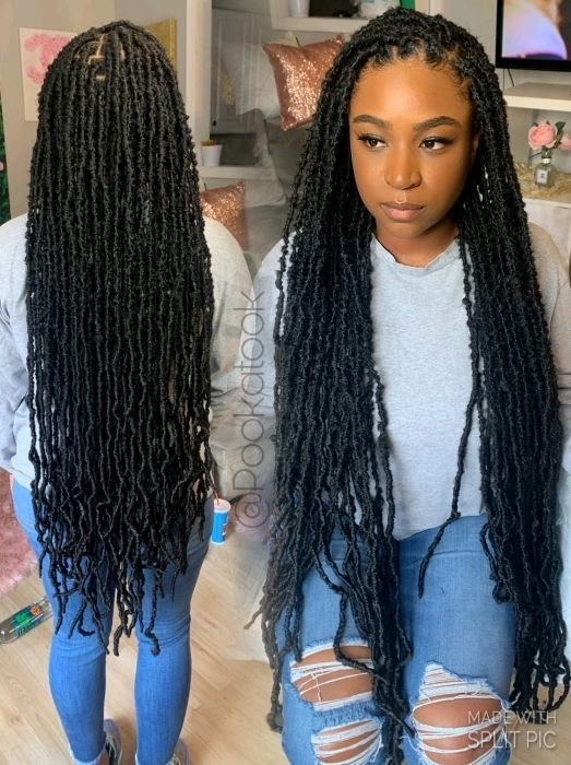 21 STYLISH FAUX LOCS HAIRSTYLES TO CHOOSE FROM