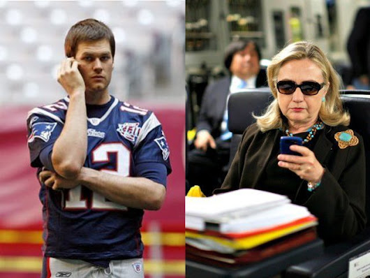 Journalists Hold Tom Brady to Higher Standard Than Hillary Clinton - Breitbart