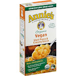 Annies Homegrown Vegan Shells & Creamy Sauce - 6 oz box
