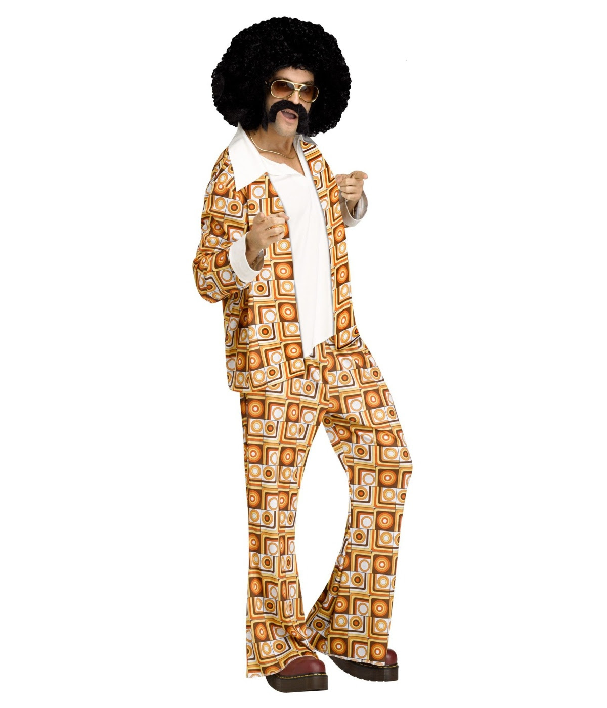 70s disco dude mens costume  1970s disco costumes