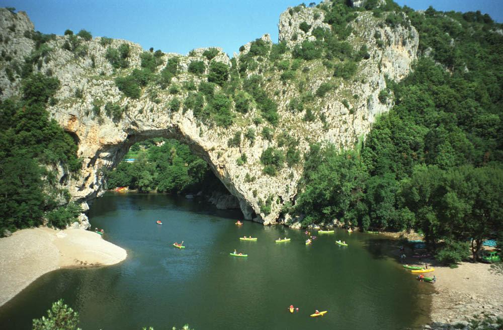 Die wilde Schlucht der Ardèche