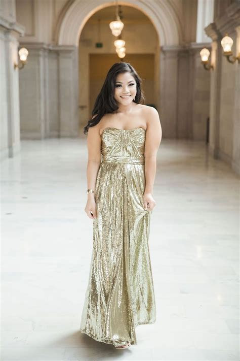 Chic (And Sparkly!) San Francisco City Hall Elopement