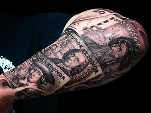 Money Tattoo Designs As Desire and Dream | Full Tattoo