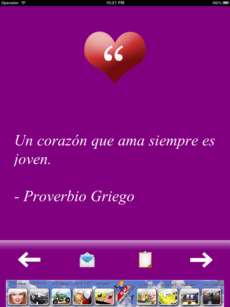 Frases De Amor Screenshot Ipad 1 Teofilo Israel