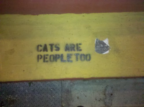 Cats are people too