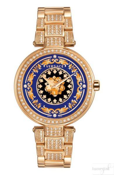 Versace Watches Vanitas Christmas Edition With Diamonds