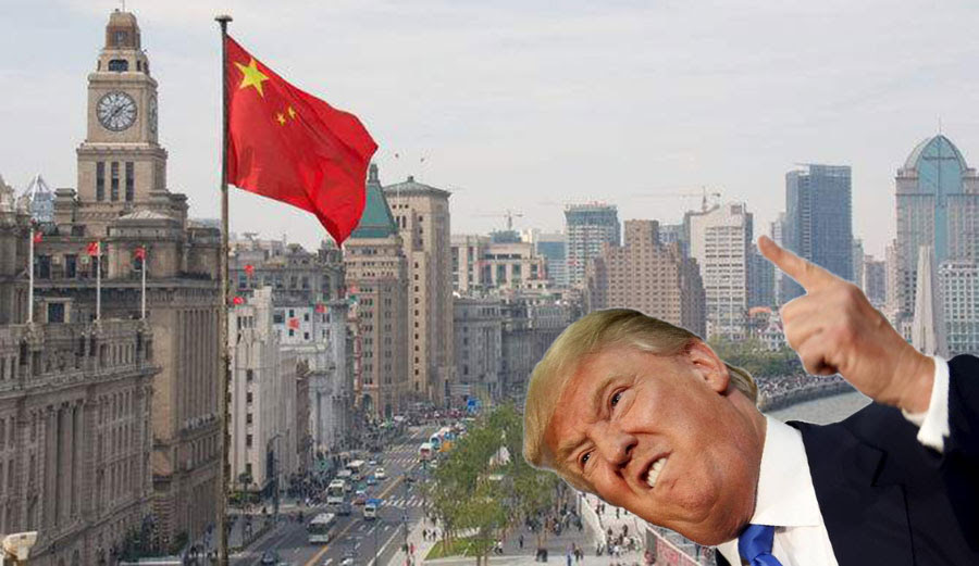 """Get bent, China!"" -Donald Trump"
