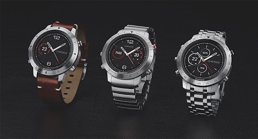 Garmin fēnix Chronos multisport watch line unveiled - EyeOnMobility