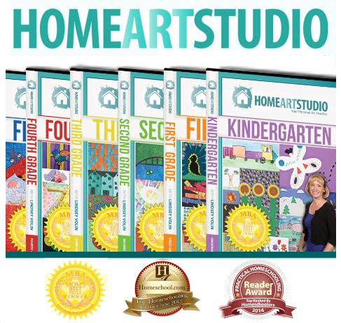 Giveaway! Home Art Studio Lessons For Kids on 7 DVDs (U.S. & Can 7/16 - 8/6))