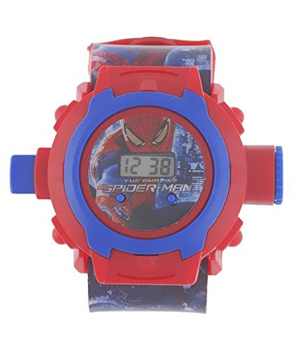 Deals on Spider Man Projector Watch
