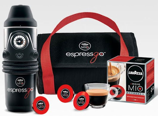 EspressGO Capsule Coffee Machine – because a hot cup of coffee can never wait | The Red Ferret Journal