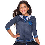 Harry Potter Childs Ravenclaw Costume Top - Size S