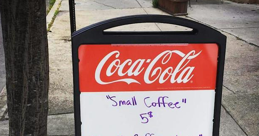Coffee shop finds clever way to inspire good manners in customers