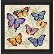 Aira Angela wishing for Dimensions Needlecrafts Counted Cross Stitch, Butterfly Profusion - Chip'n Ship