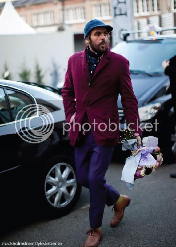 The Flower Man @ StreetStylista.Guy