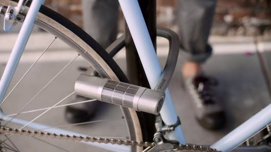 Skylock is a keyless, solar-powered bike lock that just launched a crowdfunding campaign