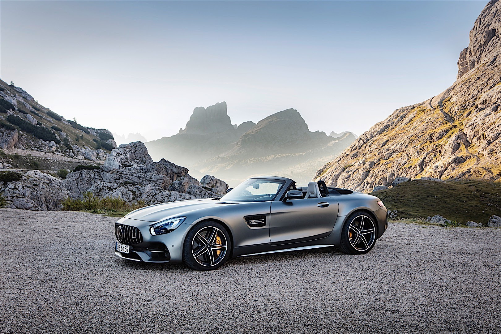 MERCEDES BENZ AMG GT C Roadster - 2016, 2017 - autoevolution