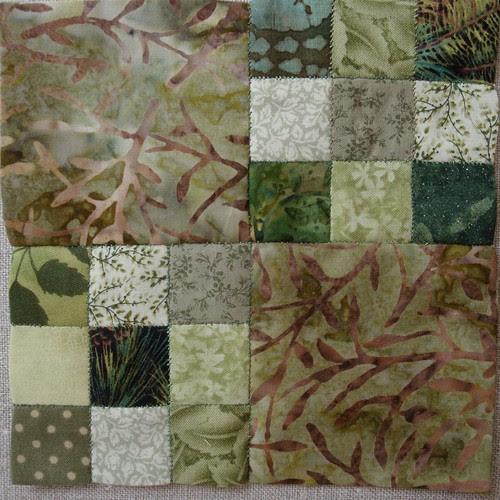 Green Cloth ~ Block 1